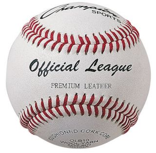 Champion Little League Leather Baseballs Official New