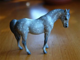 Vintage Breyer Horse Stablemate dapple Arabian Mare beautiful
