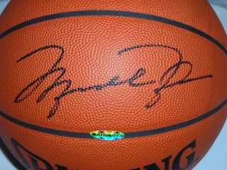 Michael Jordan Signed Auto Official Basketball Ball UDA