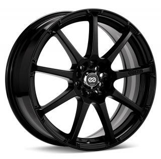 17x7 Enkei EDR9 Black Wheel/Rim(s) 5x114.3 5 114.3 5x4.5 17 7