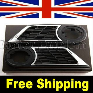 MINI COOPER ONE JCW R55 R56 R57 Black Mesh Scuttle Side Light trim 07