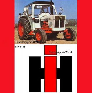 IH International Harvester Tractors 460 560 606 660 2606 Shop Service