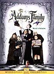 The Addams Family DVD, 2000, Sensormatic