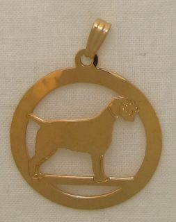 wirehaired pointing griffon jewelry pendant  32 50