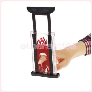 Finger Hay Cutter Chopper Magician Trick Prop Magic Funny Toy For