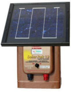 parmak 12v solar electric fence energizer charger new time left