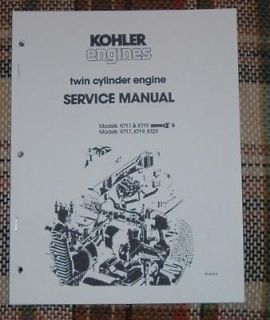 cub cadet kohler kt17 s engine service manual time left