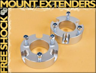 BILLET S FRONT 3 COIL SPACER BODY SUSPENSION LEVELING LIFT KIT 2WD