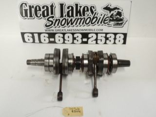 Ski Doo MXZ 700 ZX Rotax Twin Snowmobile Engine Crankshaft Crank
