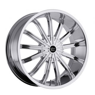22 in vision xtacy chrome wheels rims 6x5 5 6x139