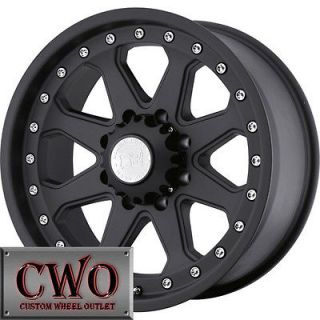 20 Black Black Rhino Imperial Wheels Rims 5x139.7 5 Lug Dodge Ram