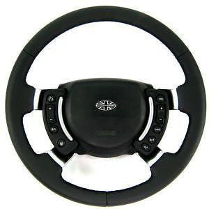 leather steering wheel range rover vogue l322 gcat new original