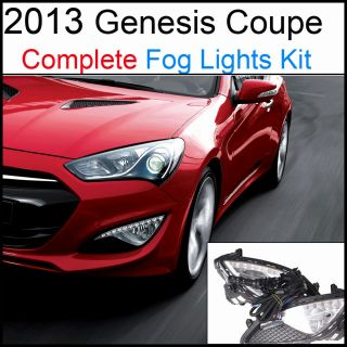 2013 Hyundai Genesis Coupe OEM Fog Lamp / Light (With LED DRL