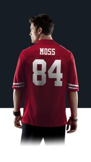 49ers Randy Moss Mens Football Home Game Jersey 468966_695_B_BODY