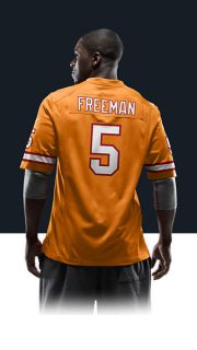 Josh Freeman Mens Football Alternate Game Jersey 479433_844_B_BODY