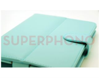 Baby Blue Leather Universal Case for Kindle Fire HD 7