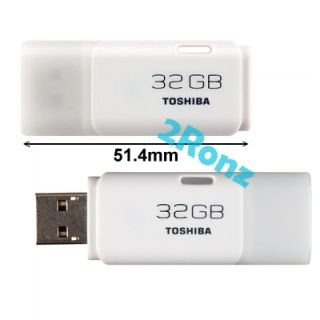 Toshiba Hayabusa 32GB 32G USB 2 0 Flash Pen Drive Disk Thumb Stick
