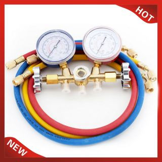 Refrigeration Air Conditioning Manifold Gauge Tool Set