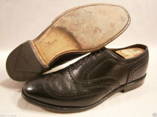 Allen Edmonds McAllister Oxford Black 10 E Wide $325