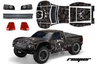 AMR RACING RC GRAPHIC SKIN KIT SHORT COURSE SCTE TEN 4WD LOSI BODY