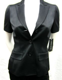 Brand New Womens Anne Klein Pant Suit Black