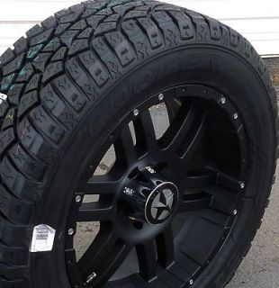 Black Wheels & Tires Hummer H3, 20x9 Matte Black 20 inch 6x5.5 Rims