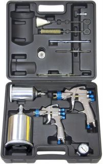 Devilbiss HVLP Auto Car Paint Touch Up Spray Gun Painting System
