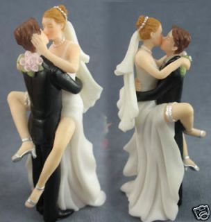 Newly listed Wedding Cake Toppers Kissing Bride and Groom Sexy Funny
