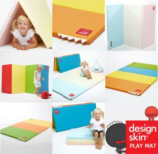 Design Skin Play Mat Baby Safety Gym Mattress Candy 4 Stage Folding