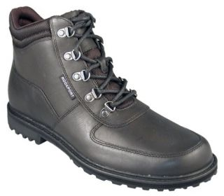 Rockport Mens Utility Leather Boots Black