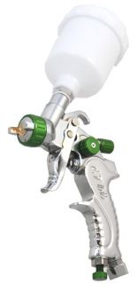 Detail Touch Up HVLP Spray Gun 1 0mm Tip Basecoat Auto Paint