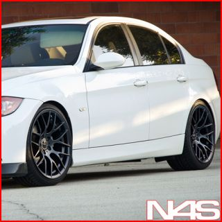 19 BMW E92 328 335 Coupe Avant Garde M359 Black Concave Staggered