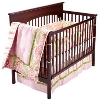 Bananafish Studio Chloe Baby Girl 4 Piece Crib Bedding Set Retail $296