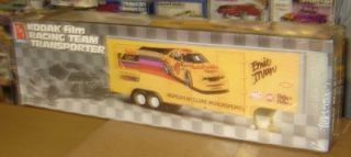 AMT Ertl Plastic Model Kit Race Car Trailer Vintage Truck 1 25