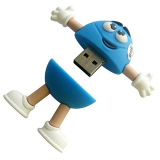 New Cute M Beans Style 8GB Memory Stick USB Flash Drive Gift
