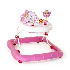Baby Walker Universal Bright Starts Walk A Bout Pink Blue Color Brand