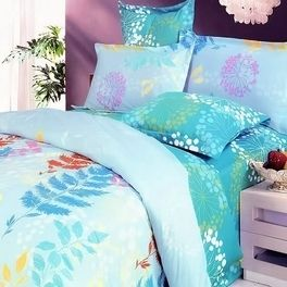 Turquoise Spring Twin Full Queen Duvet Comforter Bed Bedding Set