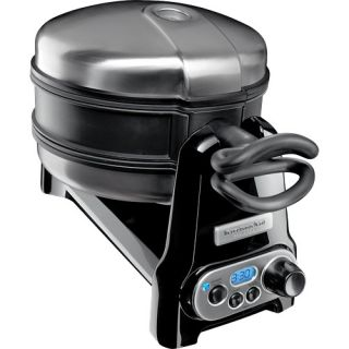 KitchenAid Pro Line Series Belgian Waffle Maker Onyx Black KPWB100OB