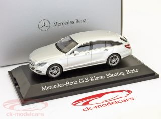 Mercedes Benz CLS Class Shooting Brake 2012 Iridium Silver 1 43 Norev