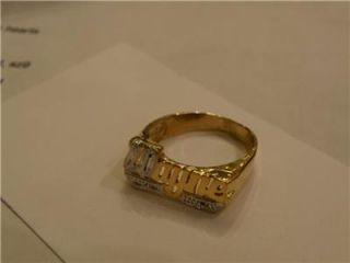 Personalized 14k Gold Plated Ring Any Name 50 Off Gift A