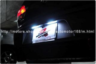 LED License Plate Lamp Bentley Continental GT Speed Super Sports GTC