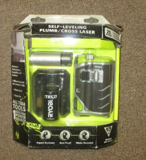 Ryobi Tek4 Self Leveling Plumb and Cross Laser RP4000 AWESOME