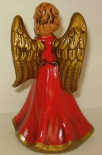 Vintage Berman Anderson Christmas Composition Angel Tree Topper Japan
