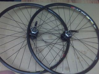 Bike Bicycle 26 inch Wheels XTB 24 Double Wall Rims Disc Hub Rim Brake