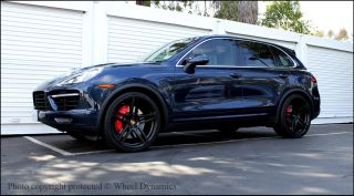 Porsche Cayenne 22 Wheels R 55 Rims Bolts Panamera Turbo s Concave