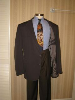 BIG & TALL PAGANO WEST MENS SLATE GRAY WESTERN SPORT COAT JACKET