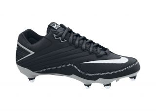 Nike Super Speed Low Mens Football Cleats Black White Silver New Size