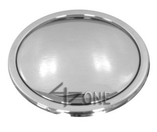 Hole Chrome Billet Aluminum Steering Wheel Horn Button 67 94 Chevy