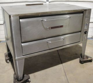 Blodgett 951s Deck Oven Gas Pizza Baking and Roasting Oven Commercial