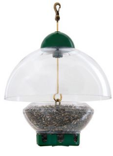 now free droll yankees squirrel proof big top bird feeder